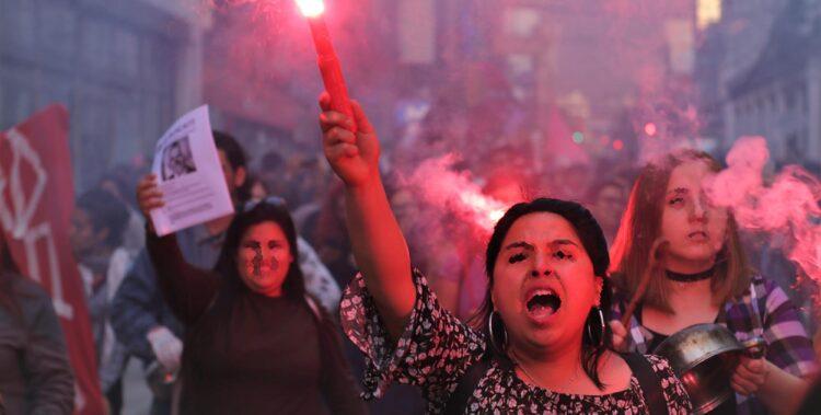 Chile Protest Foto
